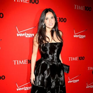 Demi Moore in 2010 TIME 100 Gala
