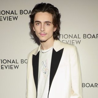 Timothee Chalamet in The National Board of Review Annual Awards Gala