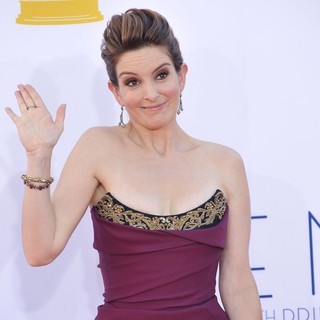 Tina Fey in 64th Annual Primetime Emmy Awards - Arrivals