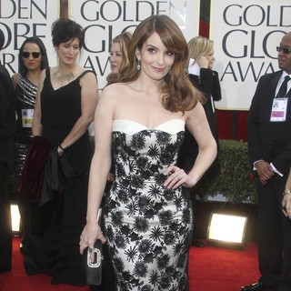 Tina Fey in 70th Annual Golden Globe Awards - Arrivals