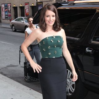 Tina Fey for The Late Show with David Letterman
