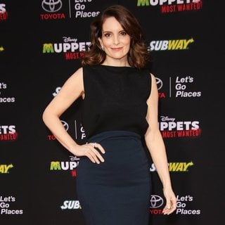 Tina Fey in Los Angeles Premiere of Disney's Muppets Most Wanted - Red Carpet Arrivals