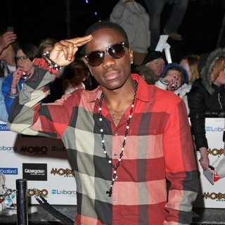 Tinchy Stryder in The MOBO Awards 2011 - Arrivals
