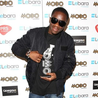Tinchy Stryder in The MOBO Awards 2011 - Press Room