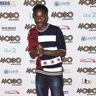 Tinchy Stryder in Mobo Awards 2015 - Arrivals