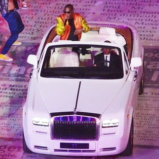 Tinie Tempah in London 2012 Olympic Games - Closing Ceremony