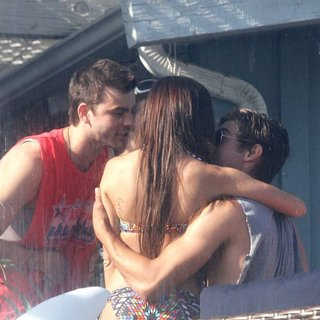 Ashley Tisdale, Zac Efron in Ashley Tisdale Celebrates Her Birthday with Friends