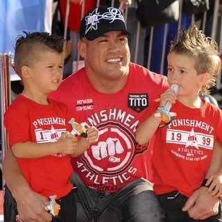 Tito Ortiz in Los Angeles Premiere of Disney's Planes