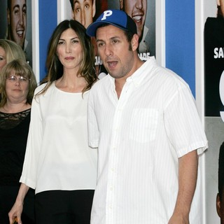 Jackie Titone, Adam Sandler in New York Premiere of Grown Ups 2