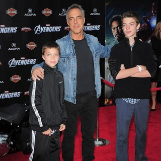 Titus Welliver in World Premiere of The Avengers - Arrivals