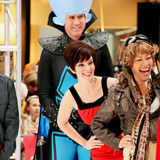 Natalie Morales, Tina Fey, Will Ferrell, Ann Curry in NBC's 'Today Show' Celebrates Halloween