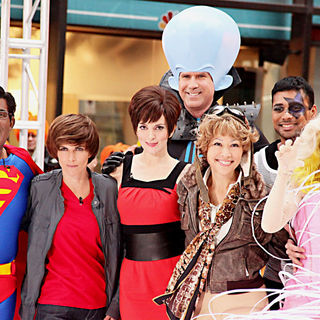 Al Roker, Natalie Morales, Tina Fey, Will Ferrell, Ann Curry, Meredith Vieira in NBC's 'Today Show' Celebrates Halloween