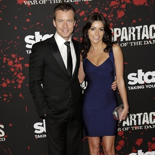 Todd Lasance in U.S. Premiere Screening of Spartacus: War of the Damned