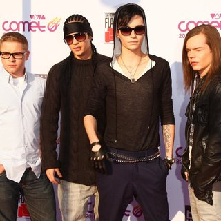 Tokio Hotel in The Comet 2010 Awards - Red Carpet Arrivals