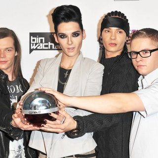 Tokio Hotel in The Comet 2010 Awards - Press Room