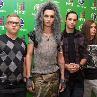 Tokio Hotel in The Muz-TV Awards Press Conference