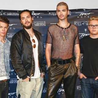 Tokio Hotel in Tokio Hotel Promoting Their Album Kings of Suburbia