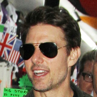 Tom Cruise in Tom Cruise Leaves Chinawhite via A Shop in Busy Oxford Street