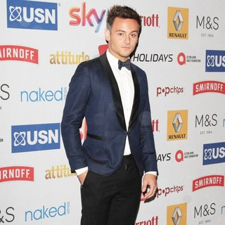 Tom Daley in Attitude Magazine Awards 2014 - Arrivals