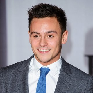 Tom Daley in The Brit Awards 2014 - Arrivals