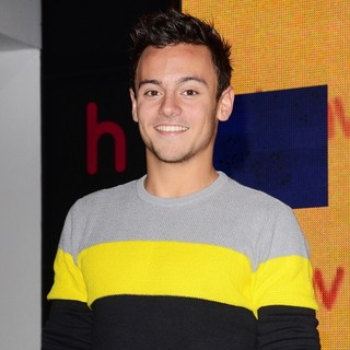 Tom Daley in Calendar Signing