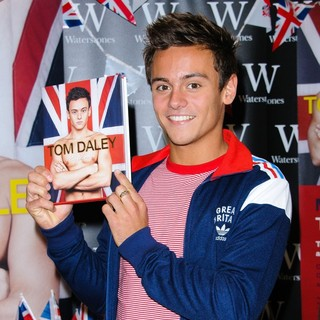 Tom Daley Signs Copies of His Autobiography My Story