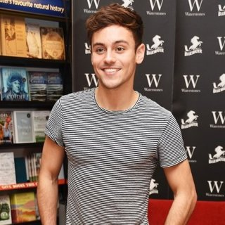 Tom Daley Signs Copies of His Book Tom's Daily Plan