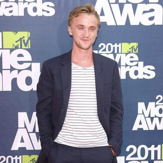 Tom Felton in 2011 MTV Movie Awards - Arrivals