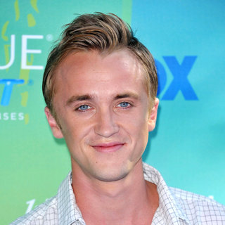 Tom Felton in 2011 Teen Choice Awards