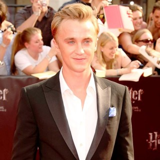 Tom Felton in New York Premiere of Harry Potter and the Deathly Hallows Part II - Arrivals