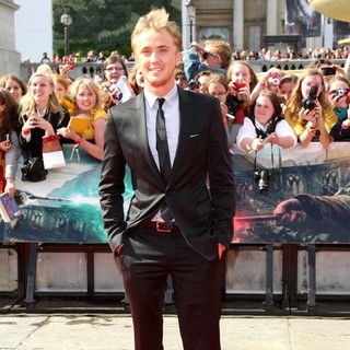 Tom Felton in Harry Potter and the Deathly Hallows Part II World Film Premiere - Arrivals