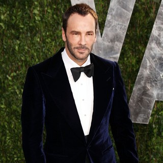 Tom Ford in 2012 Vanity Fair Oscar Party - Arrivals