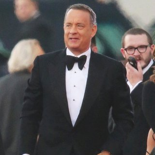 Tom Hanks in 71st Annual Golden Globe Awards - Arrivals