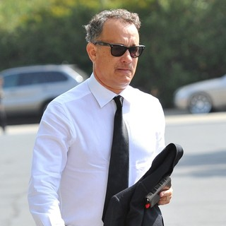 Tom Hanks in The Funeral of Michael Clarke Duncan