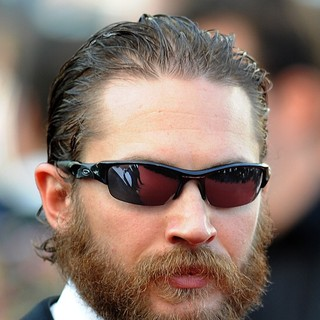 Tom Hardy in Lawless Premiere - During The 65th Annual Cannes Film Festival
