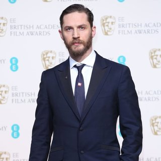 Tom Hardy in EE British Academy Film Awards 2014 - Press Room