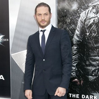 Tom Hardy in The Dark Knight Rises New York Premiere - Arrivals