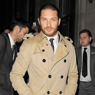 Tom Hardy in The Dark Knight Rises Afterparty