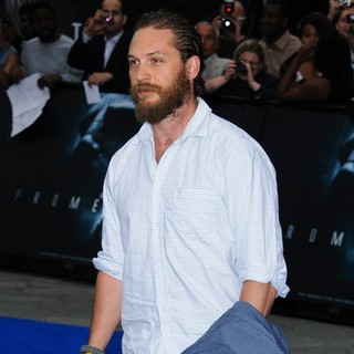 Tom Hardy in Prometheus UK Film Premiere - Arrivals