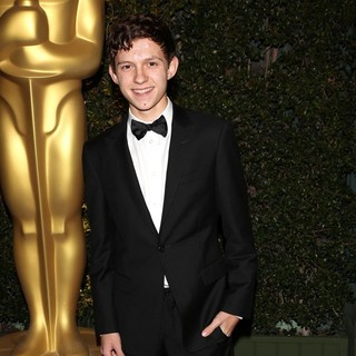 Tom Holland in The Academy of Motion Pictures Arts and Sciences' 4th Annual Governors Awards - Arrivals