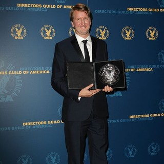 Tom Hooper in 65th Annual Directors Guild of America Awards - Press Room