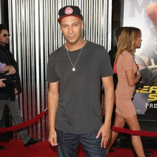 Tom Morello in Los Angeles Premiere of Real Steel