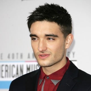 Tom Parker, The Wanted in The 40th Anniversary American Music Awards - Arrivals