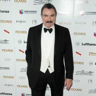 Tom Selleck in New York Moves Magazine's 10th Anniversary Power Women Gala