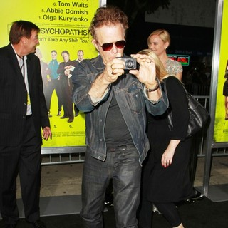 Tom Waits in Seven Psychopaths Los Angeles Premiere - Arrivals - tom-waits-premiere-seven-psychopaths-02