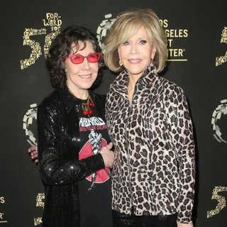 Lily Tomlin, Jane Fonda in Los Angeles LGBT Center's Gold Anniversary Vanguard Celebration Hearts of Gold