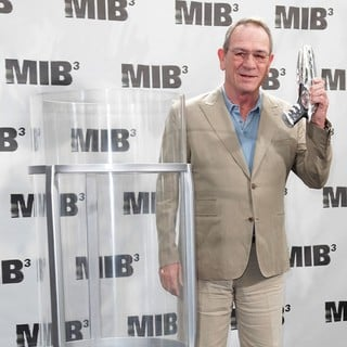 Tommy Lee Jones in Men in Black 3 Photocall