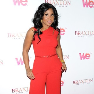 Toni Braxton in WE TV's Premiere of Braxton Family Values