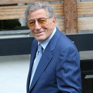 Tony Bennett in Celebrities Outside The ITV Studios