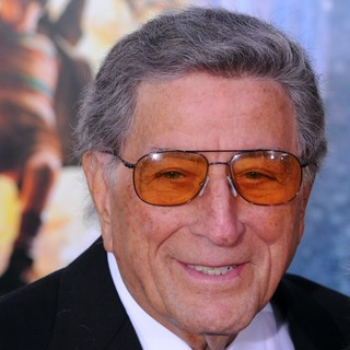Tony Bennett in Hugo Premiere